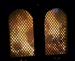 Ensimmäiset lämmöt oman kämpän takasta.